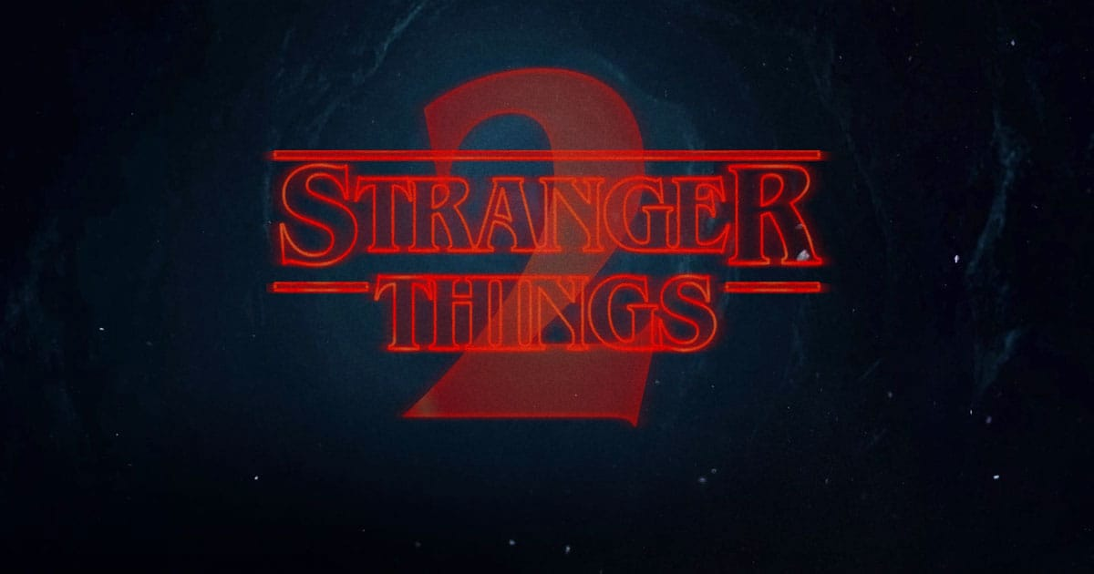 Stranger Things Type Generator Nelson Cash